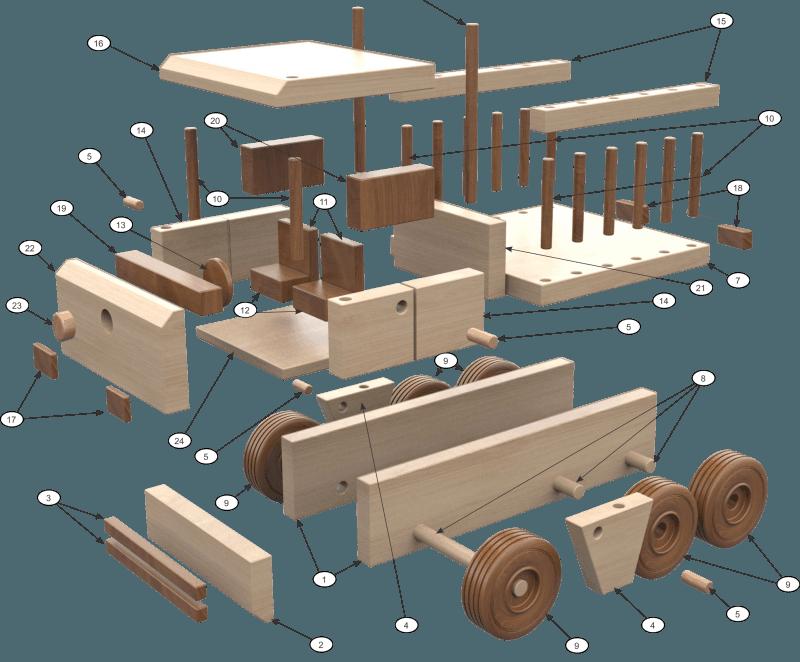 camion mercedes din lemn - Camion Mercedes din lemn1 e1501346865600 - Camion Mercedes din lemn
